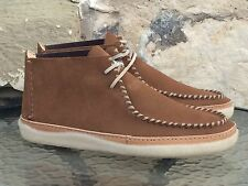 Clarks Originals Vulco Spear UK 8 New Cola Suede Trek Seam Wallabees