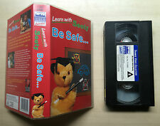 LEARN WITH SOOTY - BE SAFE - VHS VIDEO