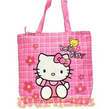 Sanrio Hello Kitty Pink Tote Bag with Yellow Bear, NEW