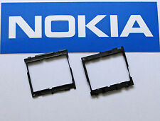 Original Nokia 6555 marco de la pantalla protección display support LCD frame Black 9591712