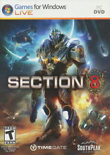 SECTION 8 Future Combat Shooter PC Game WinXP/Vista NEW