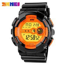 Skmei 30M Water PROOF Auto Date Multifunction Digital Black Men Sports Watch