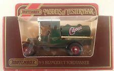 matchbox models of yesteryear boxed Y3 model T ford tanker castrol oil