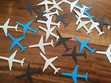 100 card Plane Aeroplane Handmade table decoration confetti scrap book hand made