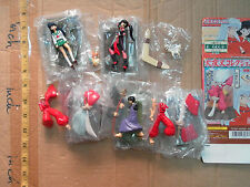 Bandai Inuyasha Inu yasha figure gashapon x5 only 1 box open