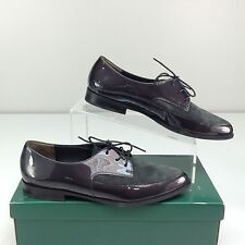 Paul Green Cache Graphite Combo Menswear Inspire Pointy Tow Oxford AT 7 / US 9.5