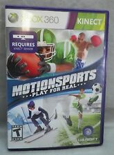 Motionsports Microsoft Xbox Video Game 360 2010 Complete Has Scratches Case Crac