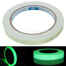 5m Glow in the dark tape Safety Selfadhesive Luminous strip 1cm Wide Sticker