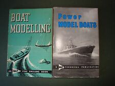 2 Books Power Model Boats/Boat Modelling