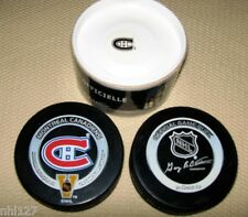 NHL Hockey Montreal Canadiens 2003 Vintage Game Official Game Puck Bettman