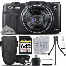Canon PowerShot SX710 HS 20MP 30x Optical Zoom Wi-Fi/NFCDigital Camera -64GB KIT