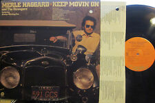 Merle Haggard - Keep Movin' On  (Capitol 11356)  (with Leona Williams)
