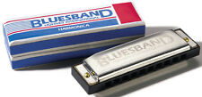 Hohner International Bluesband Blues Band Metal Harmonica Woodstock KEY C