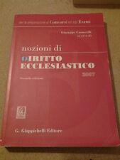 Nozioni di Diritto Ecclesiastico - A Cura di Giuseppe Casuscelli Ed.Giappichelli