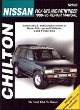 Chilton 52502 Repair Manual Fits Nissan Pick-Up, Xterra & Pathfinder, 1989-95