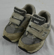 New balance 992 Childs Chicos Infantes Niños del niño Shoes Trainers UK 5.5 EU 22.5