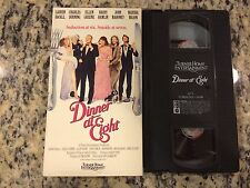 DINNER AT EIGHT OOP VHS! 1989 REMAKE OF CLASSIC LAUREN BACALL, CHARLES DURNING!