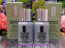 2 x Clinique Repairwear Laser Focus Serum Smooths Restores Corrects *SERUM*◆7ml◆