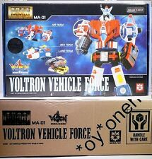 MIRACLE Chogokin MA-01 Voltron Force Vehicle METAL Transformers Improved Ver XV