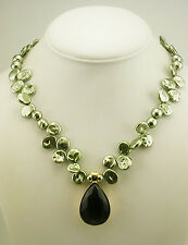 Nolan Miller Freshwater Pearl Enhancer/Pendant Necklace (QVC sold out)
