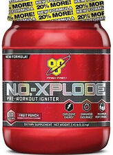 BSN NO XPLODE NEW FORMULA 60 Serv Pre-Workout Igniter X-plode Fruit  Punch