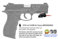 ArmaLaser GTO for Taurus 809/840/845 RED Laser Sight w/ FLX28 Grip Touch On/Off