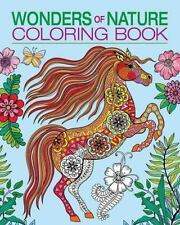 Chartwell Coloring Bks.: Wonders of Nature Coloring Book (2015, Paperback)