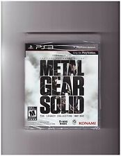 Metal Gear Solid: The Legacy Collection (Playstation 3 PS3, 10 Games in One) NEW