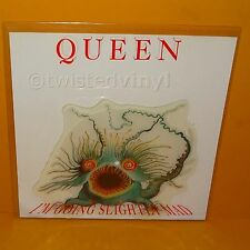 "1991 QUEEN I'M GOING SLIGHTLY MAD UK 7"" SINGLE SHAPED PICTURE DISC VINYL RECORD"