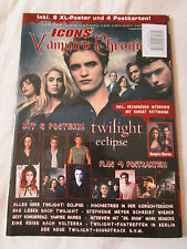 ICONS Vampire Chronicle Magazin 02/2010 Twilight Eclipse Robert Pattinson