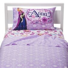 Disney Frozen Sheet Set Anna & Elsa - Twin (Reversible Pillowcase)
