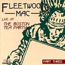 Live at the Boston Tea Party, Vol. 3 by Fleetwood Mac (CD 1999)