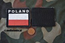 Polish Army Flag POLAND white-red Patch