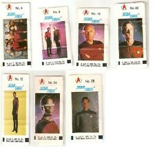 FLEER GERMANY Star Trek The Next Generation stickers