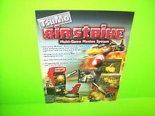Tsunami AIR STRIKE 2002 Original NOS Video Arcade Game System Promo Sales Flyer