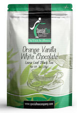 3 oz. Orange Vanilla White Chocolate Black Loose Tea + Free Samples, Tea Infuser