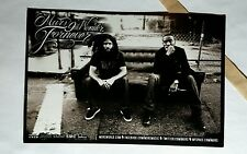 MURS 9TH WONDER FORNEVER FOREVER 4x6 MUSIC PROMO POSTER FLYER POSTCARD