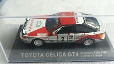Diecast rally car collection deagostini TOYOTA CELICA GT4