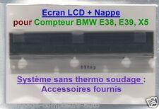 ECRAN LCD complet pour compteur odb BMW E38 E39 X5 (Avec Accessoires) !