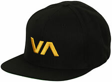 RVCA Sport VA Snapback II Hat (Black/Orange)