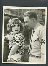 JOAN CRAWFORD + WILLIAM GARGAN - 1932 RAIN - LINEN-BACKED - SADIE THOMPSON
