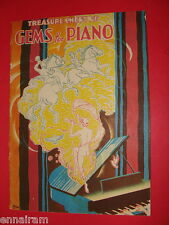 Treasure Chest of Gems for Piano 1936 music book