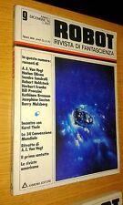 ROBOT # 9-RIVISTA DI FANTASCIENZA-ARMENIA EDITORE--BARRY MALZBERG - 1976-SR36