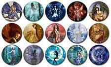 "FARIES - Lot of 15 Pin Back 1"" Buttons Badges (One Inch) – FAIRY"