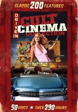 Drive-In Cult Cinema Collection: 200 Classic Features (DVD, 2013, 50-Disc Set)