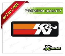 XTREME-in K&N FILTER REFLECTIVE STICKER FOR CAR, BIKE, DOOR,GLOSS (4 inch)