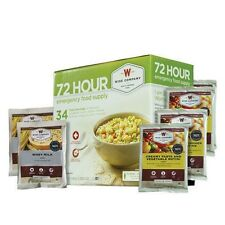 2 Pack- WISE 72 Hour Emergency Food Supply Kit Meals Camp Bug Out Prep Survival