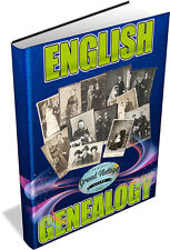 ENGLISH GENEALOGY COLLECTION - 448 BOOKS ON 2 DVD'S - family tree,ancestry