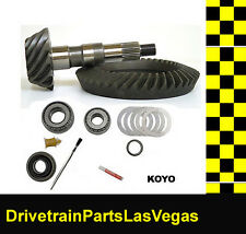 DTPLV Gear Dana 35 M35 Premium Ring and Pinion Gear Set 3.73 Ratio Install Kit