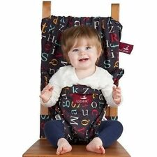 WASHABLE DINING HIGHCHAIR COMPACT SEAT TODDLER CHILD-ALPHABET TOTSEAT TOTSD91